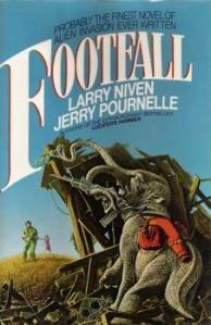 Footfall, novel, cover