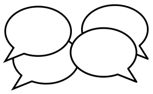 Image of word balloons