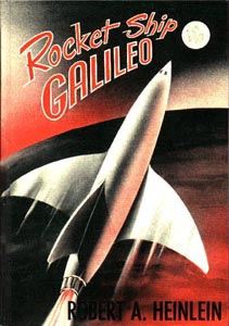 Cover, Rocket Ship Galileo