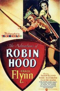 Poster, Errol Flynn, Adventures of Robin Hood
