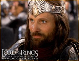 Aragorn with crown
