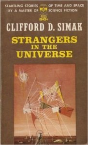 Strangers in the Universe cover