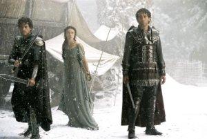 Lancelot, Guinevere, Arthur (King Arthur)