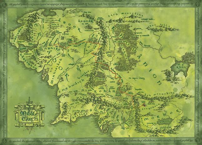 Middle Earth Map Large.How Large Is Your World Rick Ellrod S Locus