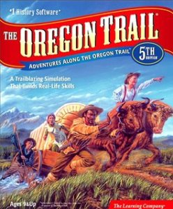 Oregon Trail game, cover