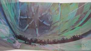 Rendezvous with Rama interior illustration