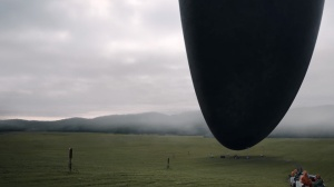 Alien ship from movie Arrival