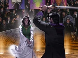 Honor Harrington faces the duel