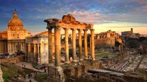 Greco-Roman scene