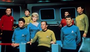 Star Trek TOS bridge crew
