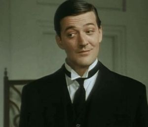 Stephen Fry as Jeeves
