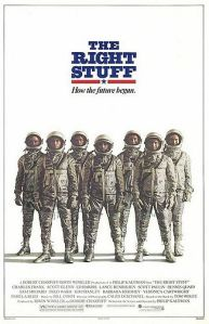 The Right Stuff movie poster