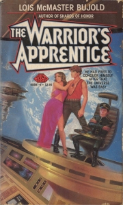 The Warrior's Apprentice, cover