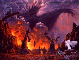 Fall of Sauron (Ted Nasmith)
