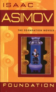 Isaac Asimov, Foundation, cover