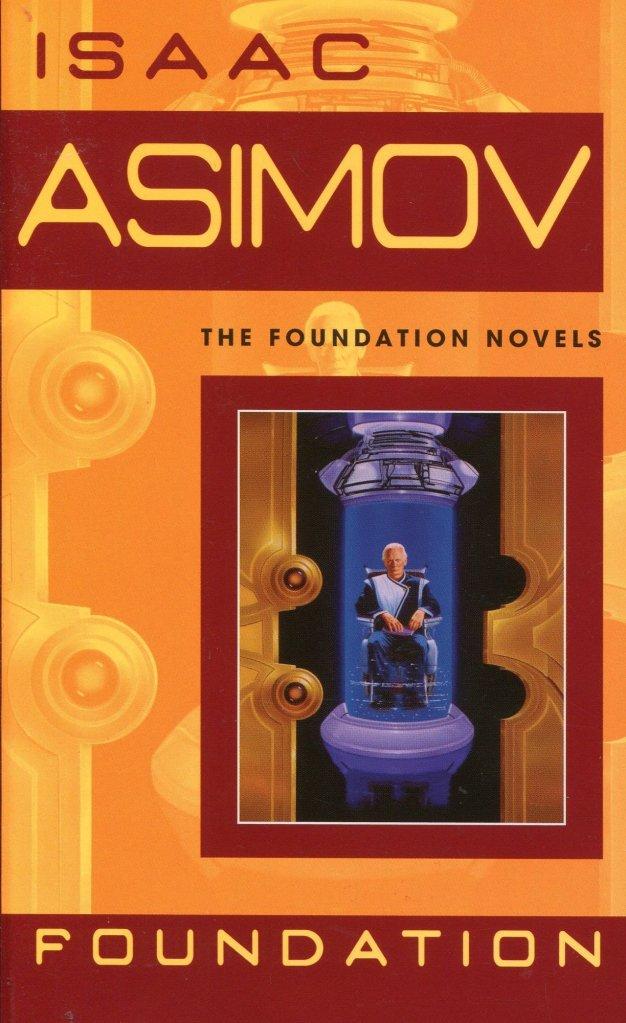 Isaac Asimov, Foundation, cover