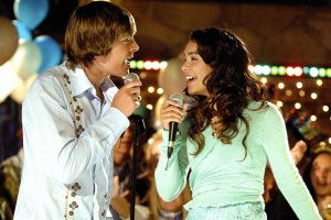 High School Musical, karaoke scene, Troy and Gabriella
