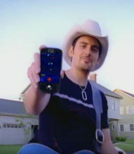 "Brad Paisley, ""Welcome to the Future"""