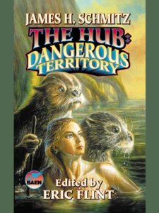 James Schmitz, The Hub - Dangerous Territory, cover