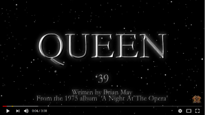 '39, official lyric video opening
