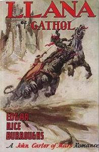 Llana of Gathol, cover