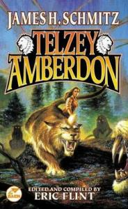 Telzey Amberdon, book cover