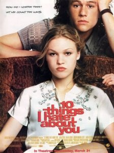 10 Things I Hate About You (movie poster)