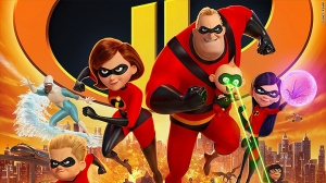 Incredibles 2, family charging