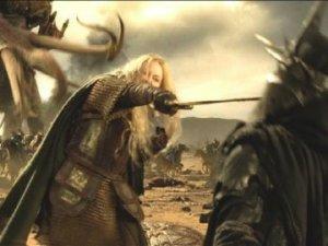 Eowyn slays the Nazgul