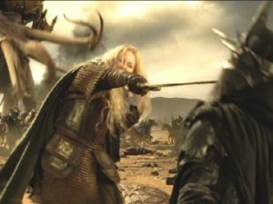 Eowyn slays the Nazgul