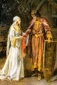 Lancelot and Elaine