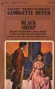 Black Sheep (Georgette Heyer) cover