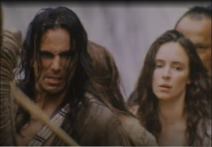 Last of the Mohicans action scene