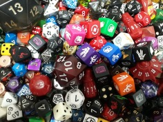 Many different dice