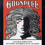 Godspell play poster