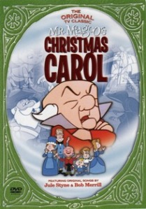 Mr Magoo's Christmas Carol poster