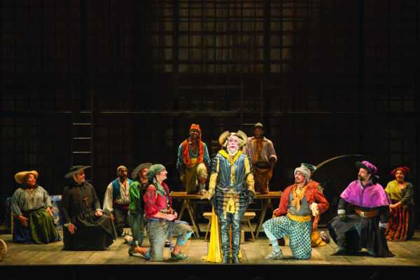 Scene from Man of La Mancha, Shakespeare Theatre Company
