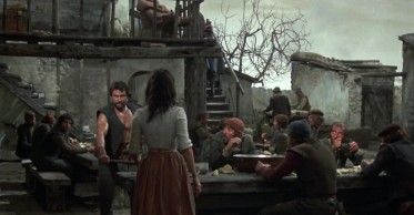 Man of La Mancha, movie scene