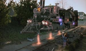 Doc Brown's time-traveling train