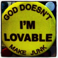 I'm Lovable button
