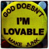 I'm Lovable button