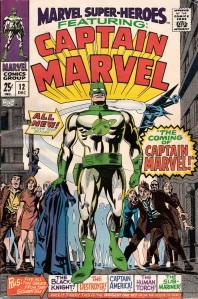 Captain Marvel (Marvel Super-Heroes) cover