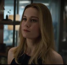 Captain Marvel, Avengers: Endgame trailer