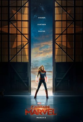 Captain Marvel poster with motto