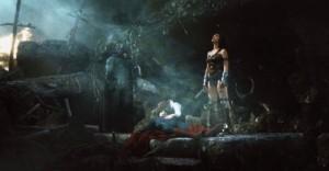 Batman and Wonder Woman mourn Superman