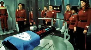 Spock's funeral