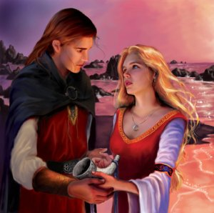 Eilonwy and Taran