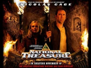 National Treasure trailer scene