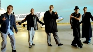 Backstreet Boys, I Want It That Way, scene from music video
