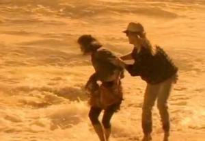 Waiting For a Star To Fall, scene from music video